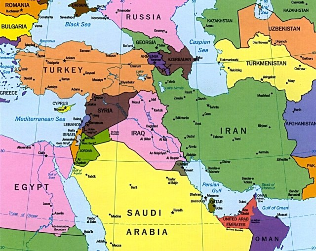 Middle Eastern Map cropped