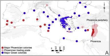 Phoenician Map