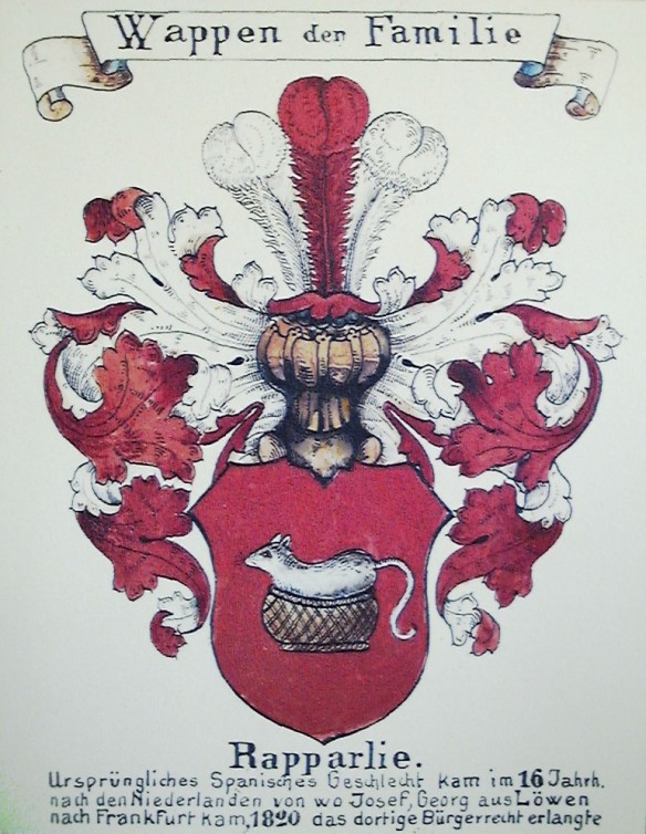 Rapparlie coat of arms