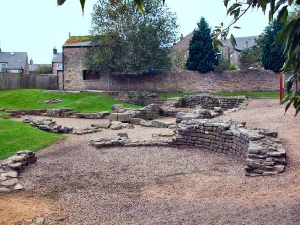 Ribchester roman fort Lancashire