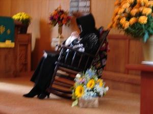 Sarah praying