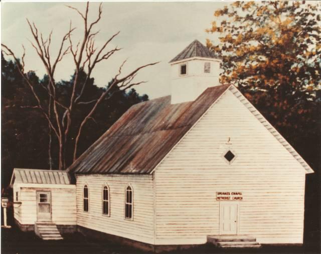 Speaks Chapel painting