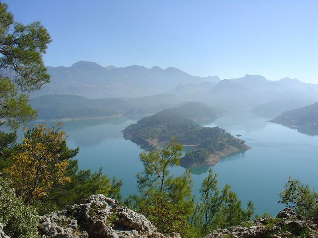 Taurus Mountains lake