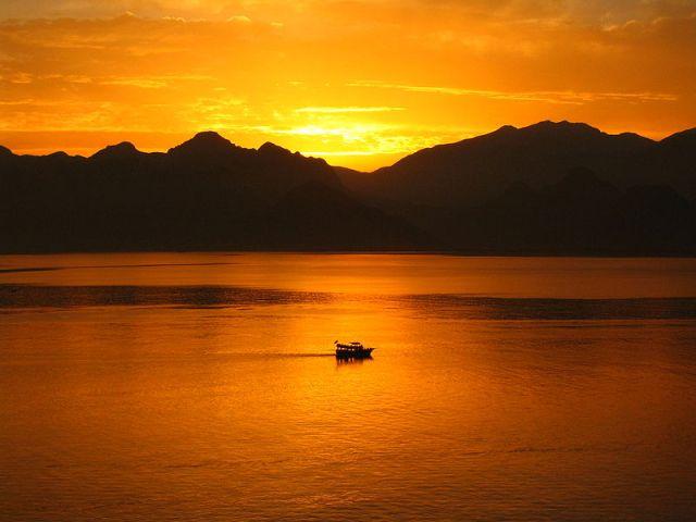 Taurus mountains sunset